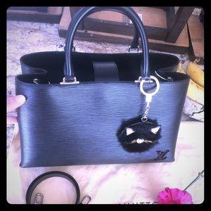 Louis Vuitton Kleber MM in Epi noir ⭐️Firm price⭐️
